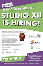 Studio XII Music and Dance Company | Latest Events and News